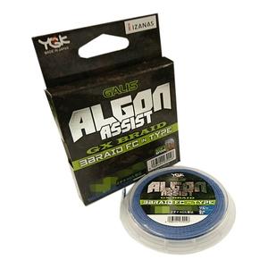 YGKよつあみ アルゴン アシスト GX 3打フロロカーボン入りタイプ 6m 10号/120lb ブルー