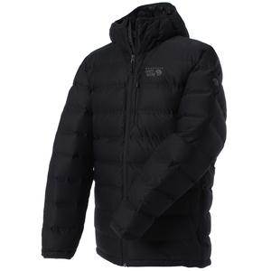 【送料無料】マウンテンハードウェア StretchDown Plus Hooded Jacket Men's L 090(Black) OM0423