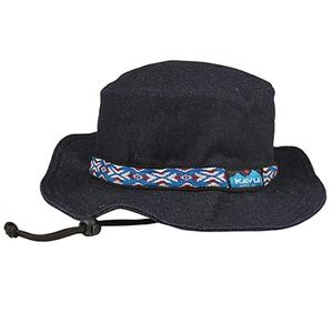 KAVU(カブー) 【21春夏】Strap Bucket Hat(ストラップ バケット ハット) S DENIM(デニム) 19810115072005