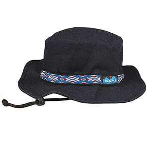 KAVU(カブー) 【21春夏】Strap Bucket Hat(ストラップ バケット ハット) L DENIM(デニム) 19810115072007