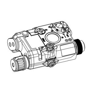 honeyBee(ハニービー) PEQ15 LA5モデル LEDフラッシュライト&LEDダミーレーザーサイト 165ABK