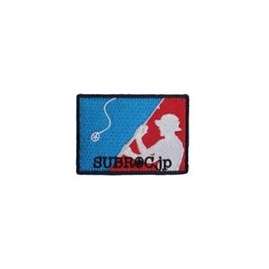 サブロック(SUBROC) ベルクロ付き刺繍パッチ MLP(BLUE&RED) NO.2724