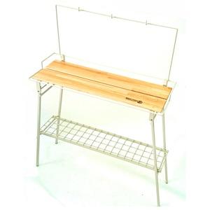 【送料無料】ネイチャートーンズ(NATURE TONES) The Folding Bar Counter Table アイボリー BT-I