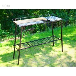 ネイチャートーンズ(NATURE TONES) The Kitchen Counter Table+オプションセット KCT-DB+OP キャンプテーブル