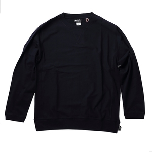 gym master(ジムマスター) ヘヴィーウェイト天竺クルーネック G633305 メンズ長袖Tシャツ