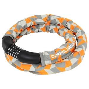 ドッペルギャンガー(DOPPELGANGER) アーマードケーブルロック オレンジxグレー DKL320-CF