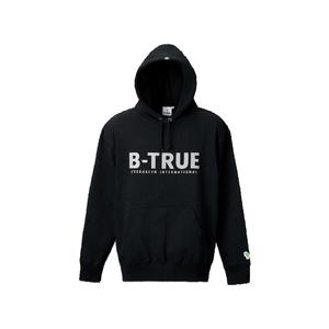 【送料無料】エバーグリーン(EVERGREEN) B-TRUE ヘビーウエイトプルパーカー M ブラック