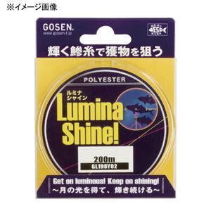 ゴーセン(GOSEN) ルミナシャイン(LuminaShine) 200m GL198Y03 ルアー用ポリエステルライン