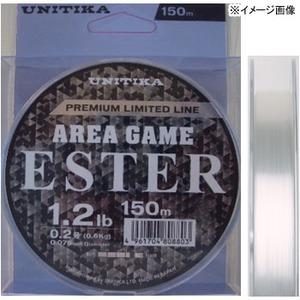エリアゲーム エステル 150m 0.4号/2.2lb ナチュラルクリアー