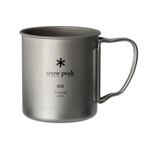 スノーピーク(snow peak) チタンシングルマグ 450 MG-143 チタン製マグカップ