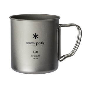 スノーピーク(snow peak) チタンシングルマグ 600 600ml MG-144