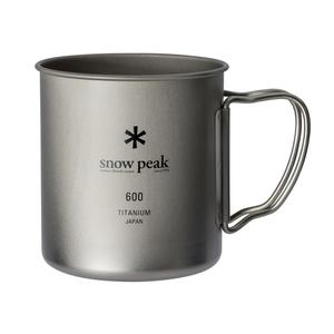 スノーピーク(snow peak)チタンシングルマグ 600