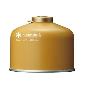 スノーピーク(snow peak) ギガパワーガス250プロイソ GP-250GR キャンプ用ガスカートリッジ
