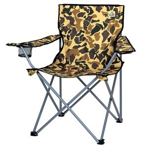 キャプテンスタッグ(CAPTAIN STAG)キャンプアウト ラウンジチェア カモフラージュ キャンプ/レジャー椅子