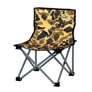 キャプテンスタッグ(CAPTAIN STAG)キャンプアウト コンパクトチェア カモフラージュ キャンプ/レジャー椅子
