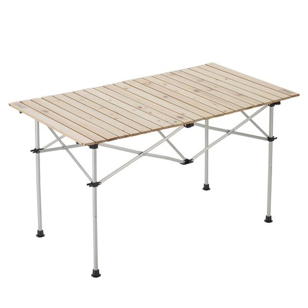 Coleman(コールマン) ナチュラルウッドロールテーブル120 2000031291 キャンプテーブル