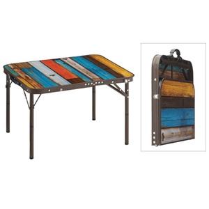 ロゴス(LOGOS) グランベーシック 丸洗いスリムサイドテーブル7060 73189035