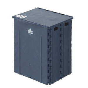 ロゴス(LOGOS) パタントテーブルBOX ネイビー 73189303