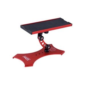 攻棚ワカサギマルチテーブル(スタンド式)  レッド