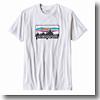 M's Logo Cotton/Poly T−Shirt(メンズ ロゴ コットン/ポリ Tシャツ)SWHI(White)
