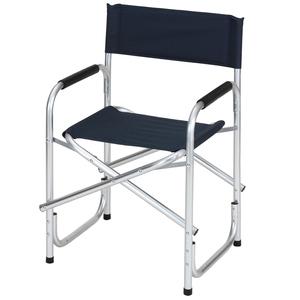BUNDOK(バンドック)ディレクターチェアアルミ レジャー/アウトドア折りたたみ椅子