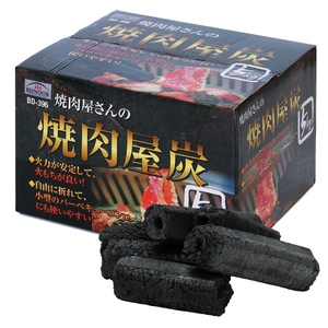 BUNDOK(バンドック) やきにく屋炭 火力安定 燃焼時間3-4時間 BD-396 炭&まき