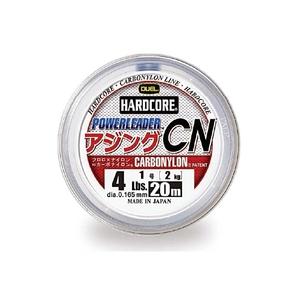 デュエル(DUEL) ハードコアパワーリーダー アジング CN 20m 1号/4lb ナチュラルクリアー H3635