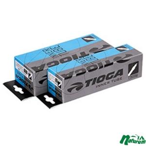 TIOGA(タイオガ) インナーチューブ 仏式 チューブ 700×18?25C×2【お得な2点セット】 TIT12806