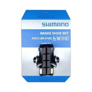 シマノ(SHIMANO/サイクル) R55C3 カートリッジタイプブレーキシューセット(左右ペア) BR-6700-G用 Y8G698130