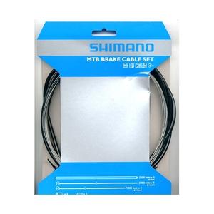 シマノ(SHIMANO/サイクル) MTB用ステンブレーキSET Y80098021 ブレーキ関連