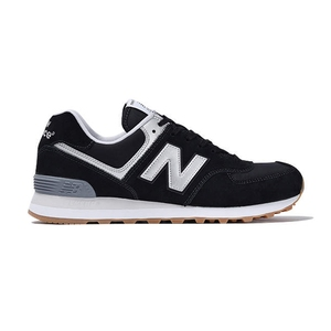 【送料無料】new balance(ニューバランス) ML574 MS RUN STYLE 26.5cm BLACKxGRAY/D ML574 HRM D