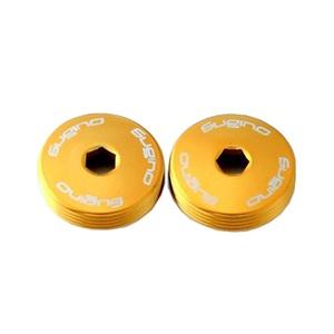 スギノエンジニアリング アルミ クランク キャップSET(ボルト付)