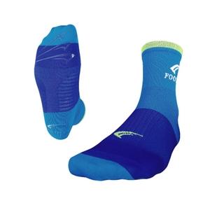 FOOTMAX(フットマックス) 3D SOX BIKE(FXB109) L ブルーxライム