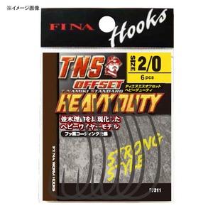 ハヤブサ(Hayabusa) TNSオフセットヘビーデューティ FF311 ワームフック(オフセット)