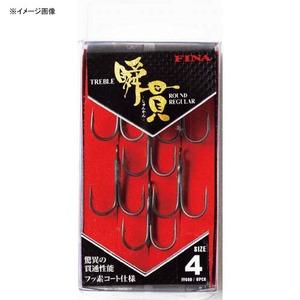 ハヤブサ(Hayabusa) 瞬貫トレブル ラウンドレギュラー 4号 FF600