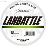 東レモノフィラメント(TORAY) ソラローム ランバトル 100m S75L ブラックバス用フロロライン