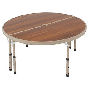 ワンポール テントテーブル  ブラスン×ベージュ