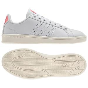 【送料無料】adidas(アディダス) CLOUDFOAM VALCLEAN Women's 23.5cm AW3974(ランニングホワイトxレイピンク)