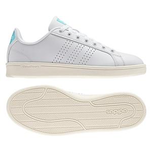【送料無料】adidas(アディダス) CLOUDFOAM VALCLEAN Women's 24.5cm AW3975(ランニングホワイトxクリアアクア)