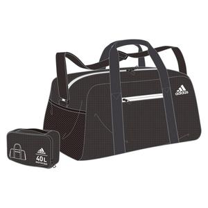 adidas(アディダス) パッカブル ボストンバッグ 40L BR6270(ブラック) DMD19