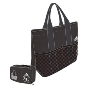 adidas(アディダス) パッカブル トートバッグ 23L BR6257(ブラック) DMD24