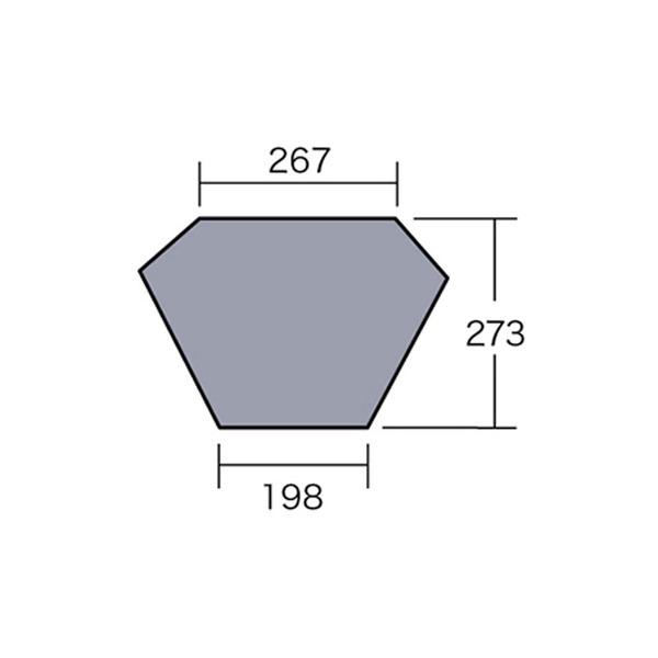 ogawa(キャンパルジャパン) PVCマルチシート トレス用 1424 グランドシート