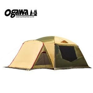 【送料無料】小川キャンパル(OGAWA CAMPAL) アイレ 6人用 ブラウンxサンド 2658
