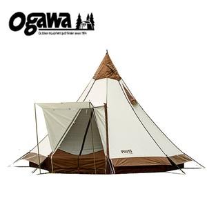 【送料無料】小川キャンパル(OGAWA CAMPAL) ピルツ15T/C 8人用 オフホワイトxブラウン 2790