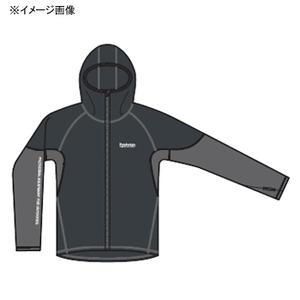 パズデザイン ストレッチフーディー XL チャコールグレー SJK-009