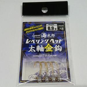 一誠(issei) レべリングヘッド太軸金針 #8 ワームフック(ジグヘッド)