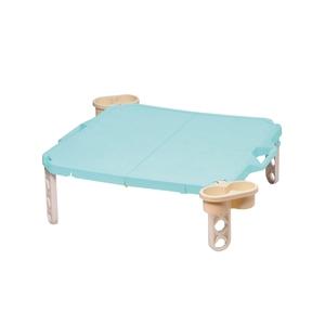 パール金属 シエルシエル ハンディテーブル 63x63cm ブルー D-244