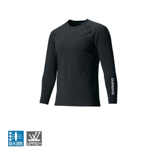 シマノ(SHIMANO) IN-061Q サンプロテクション ロングスリーブシャツ 48360 フィッシングシャツ