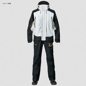 【送料無料】ダイワ(Daiwa) DR-1807 ゴアテックス プロダクト コンビアップレインスーツ 3XL ライトグレー 04539252
