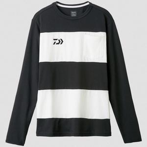 ダイワ(Daiwa) DE-8407 ボーダーロングスリーブシャツ 04519868 フィッシングシャツ